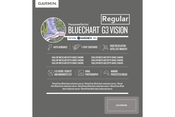 Garmin G2 Vision Regular HD-SD MicroSD