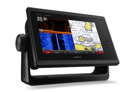 "Garmin GPSMAP 7408xsv 8 ""Chirp and Down Side Vù"
