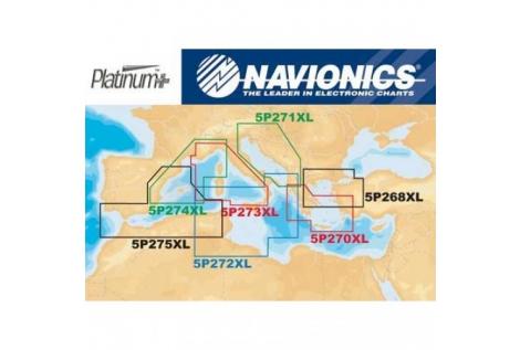 Navionics Platinum Plus card 273XL Micro-SD Card