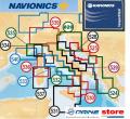 Small Navionics card CF-CARD Area