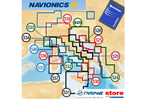Navionics + Small Area micro-SD / SD Card