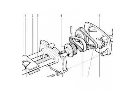 Raymarine ST4000 MK2 Lever Kit