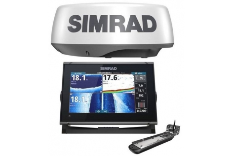 """Simrad GO9 XSE TotalScan 9 """"with transducer"""